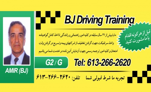 BJ Driving Training
